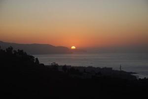 Sonnenaufgang Nerja