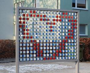 """Pixelwand"" St. Lorenz-Nord"