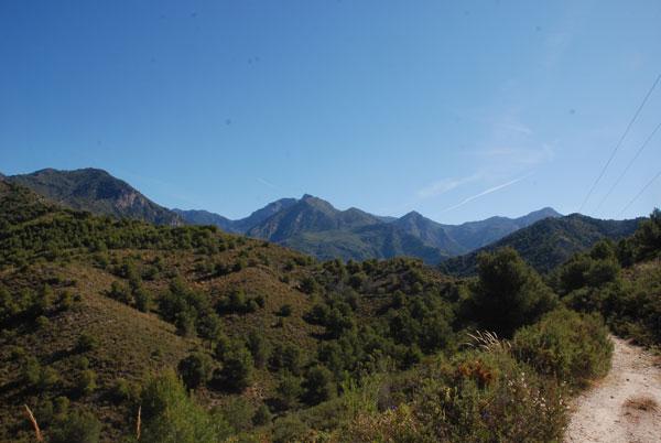 Berge bei Nerja
