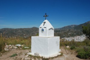 Blick vom Pinto del Cruz nach Frigliliana