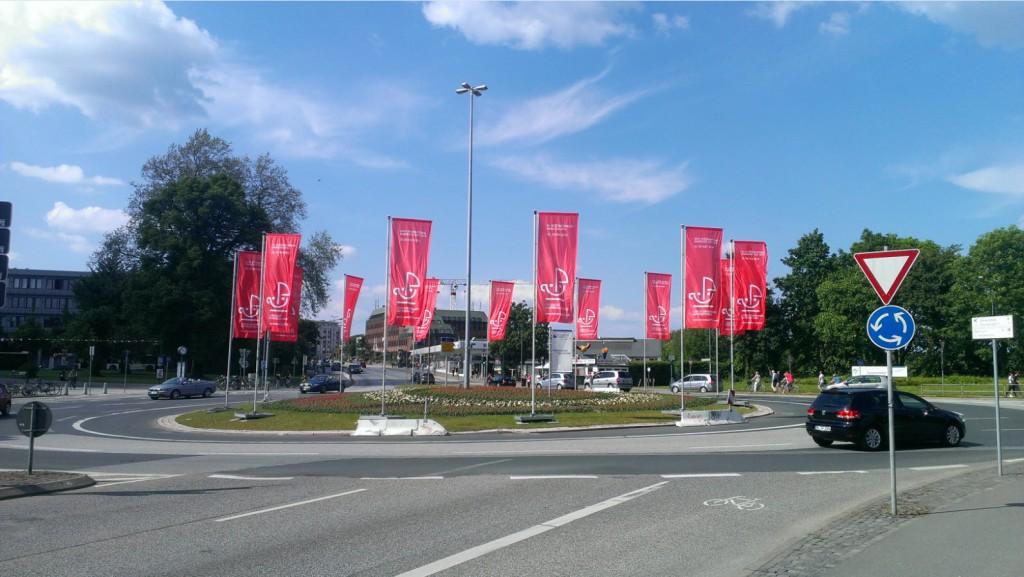 Hansetag-Begrüßung am Lindenteller
