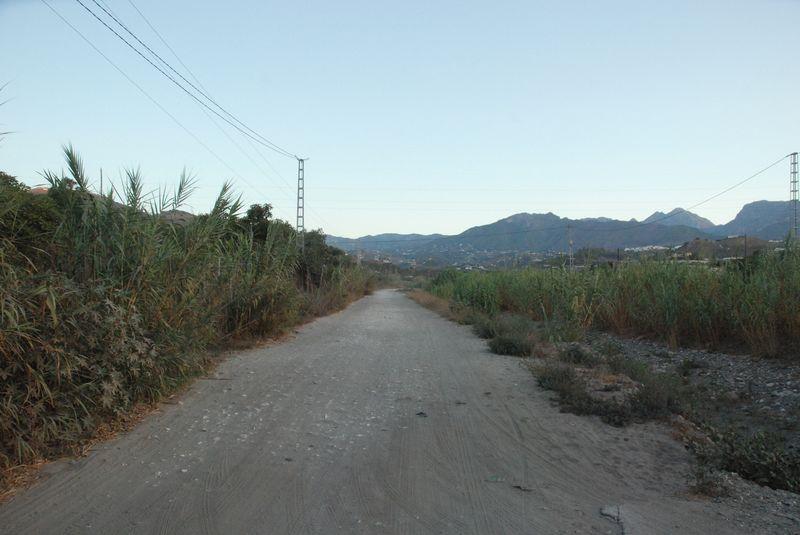 Weg am Rio Seco II