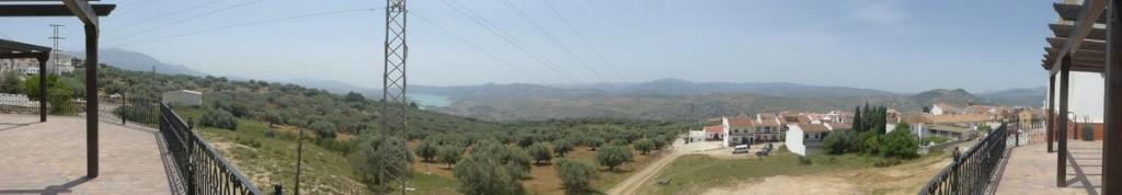 Panoramablick von der Plaza Andalucía