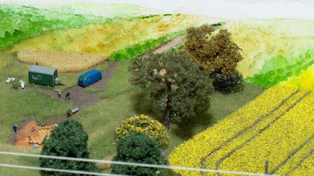 Ausgrabungsstätte (Foto: KW)