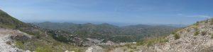 Blick an die Küste von Nerja