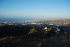 Blick auf Torrox-Costa