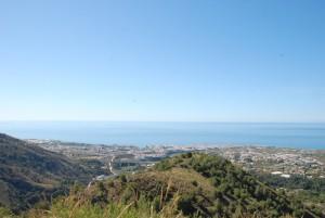 Blick vom Pinto del Cruz auf Nerja
