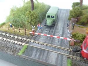 Detail - Bahnübergang