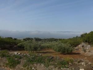 Das Tal unter den Wolken