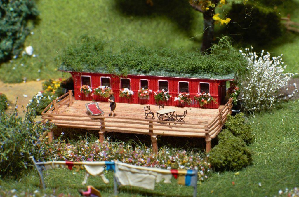 Eisenbahner-Gartenlaube (Foto: KW)